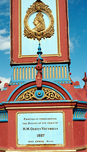 Weymouth - Jubilee Clock (detail)