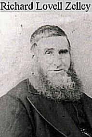Richard Lovell Zelly (1825-1905) was born in Fleet and died at Poole. He married Mary Ann White in 1847 at Holy Trinity Church, Weymouth. Following Mary Ann's death in 1881, Richard remarried.