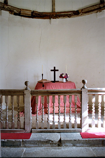 St. Andrews Church, Interior. Winterborne Tomson