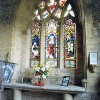 Glanvilles Wootton – St Mary's Church – Chapel Window