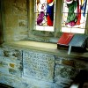 Glanvilles Wootton – St. Mary's Church – Chancel Monument