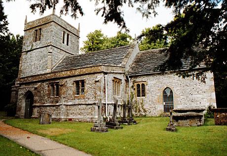Holy Trinity Church at Godmanstone