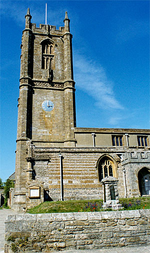 St. Mary's Church at Cerne Abbas,