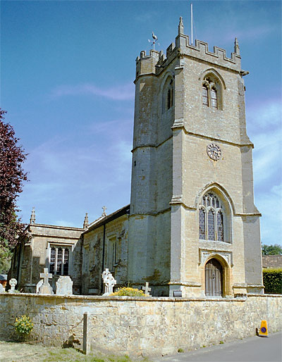 The Church of St. Nicholas at Nether Compton