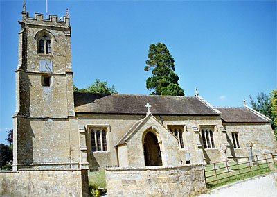 Photo of the church of St. Nicholas at Nether Compton
