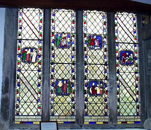The Anning Window, The Church of St. Michael the Archangel at Lyme Regis.