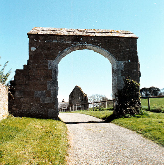 All that remains of the Abbey