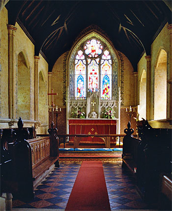 St. Mary's Church - the chancel