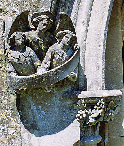 Detail from porch entrance