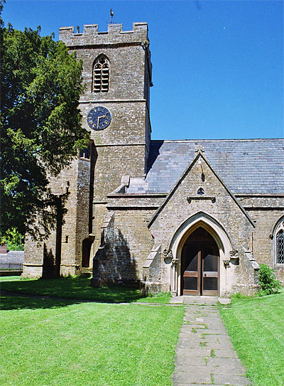 Entrance to St. Mary's Church, Powerstock