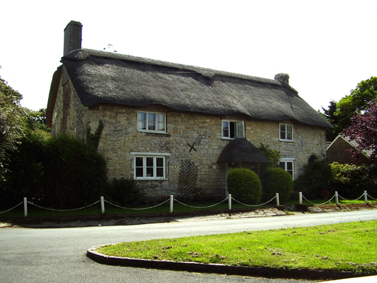 Another cottage in the village.