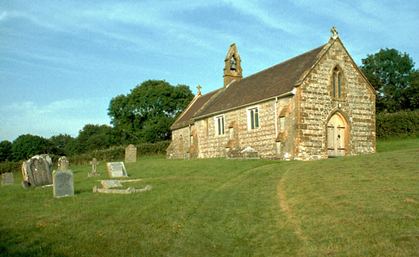 St. Nicholas Church at Hilfield is now a Chapel of Ease of St. Andrew's, Yetminster