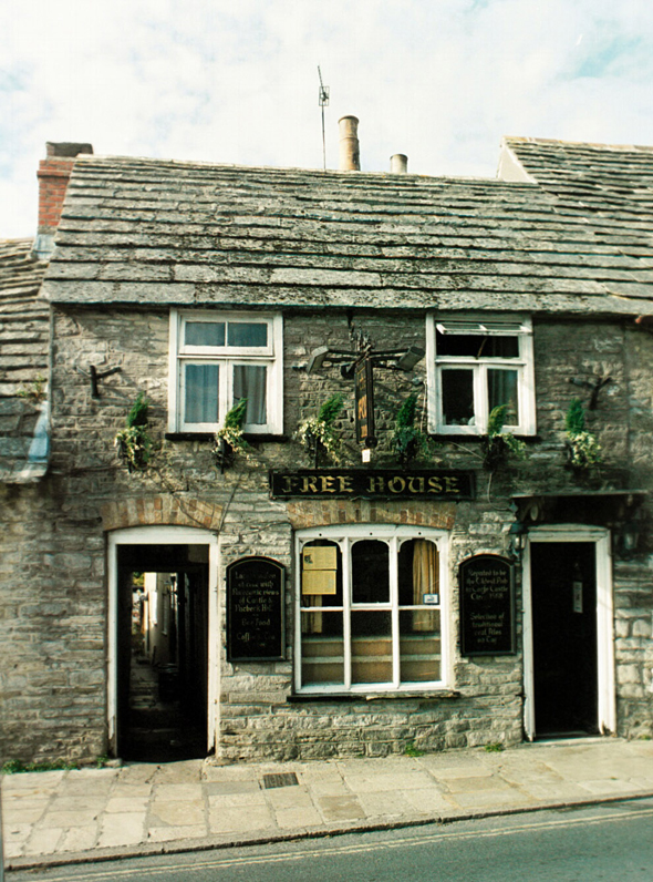 The Fox Inn at Corfe Castle