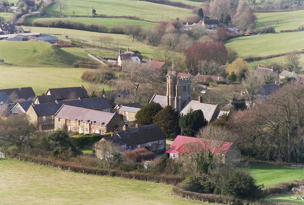 Overview of Askerswell Village
