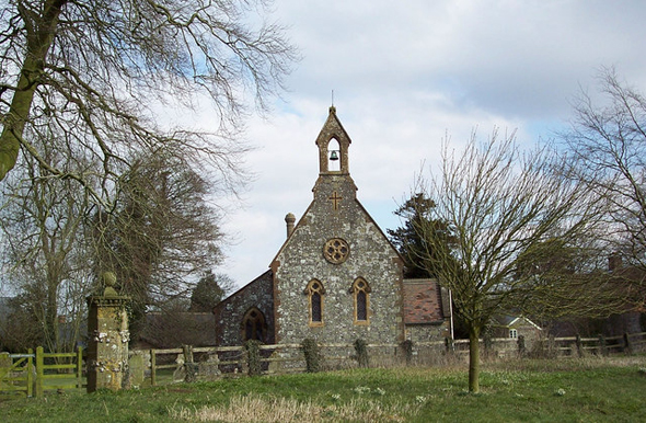 St. Nicholas Church, Ashmore. Photo by Trish Steel. http://www.geograph.org.uk/profile/9274