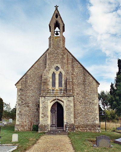 All Saint's Church at Stour Row
