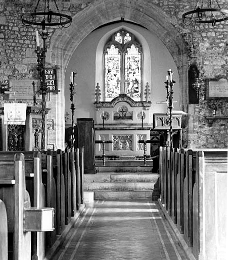 Photo of Interior of church. Photo: Robert Chisman
