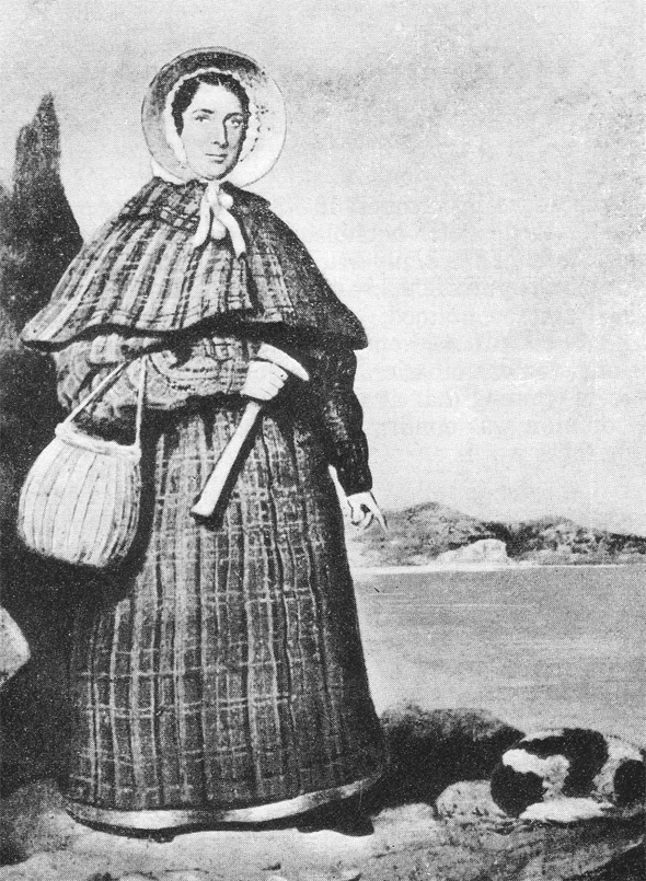Mary Anning the famous collector of fossils