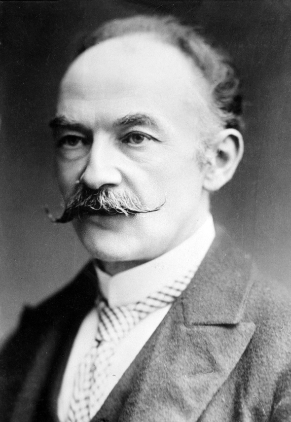 Thomas Hardy photographed between 1910 and 1915