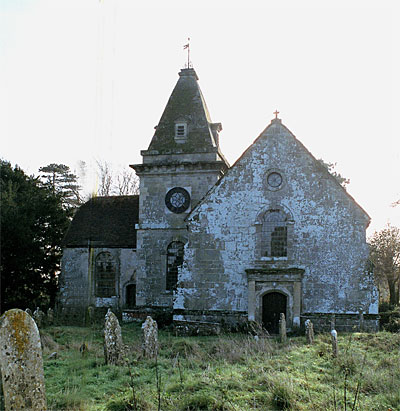 The Church of St. Wolfrida at Horton