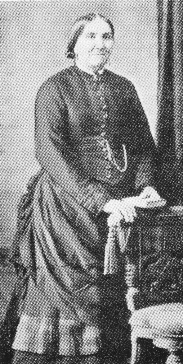 Maria Bligdon (nee Pitcher) 1828-1891. Bakery owner of Litton Cheney.