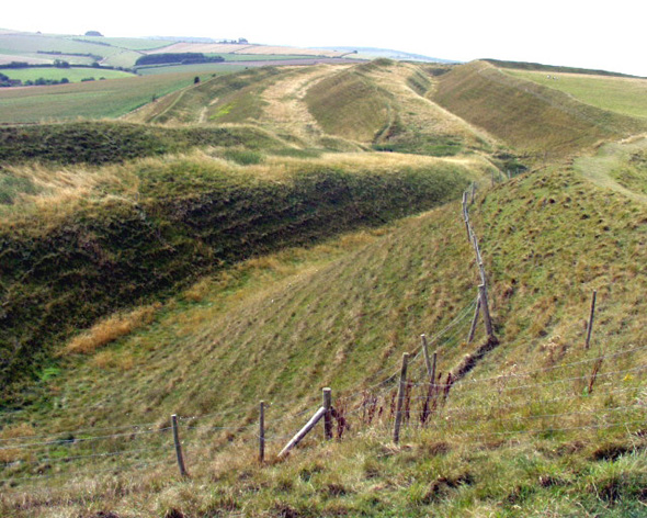 Maiden Castle Ramparts