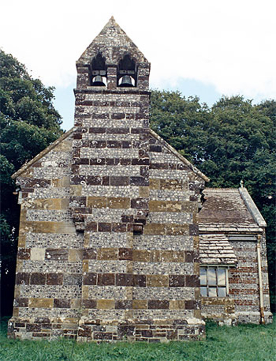 The redundant church at Winterborne Anderson.