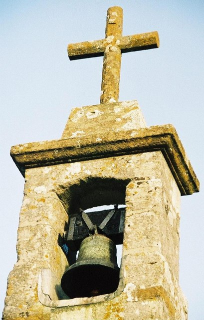 The bell turret of the parish church, Photo by Chris Downer, for about the photographer click on the image.