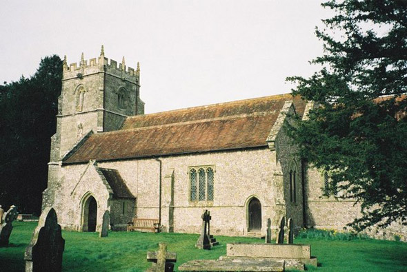 Durweston Church. Photo by Chris Downer, for more about the photographer click on image.