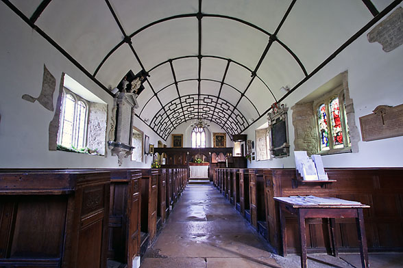 Interior of St. Andrew's Church. Photo by Mike Searle, for more about the photographer please click on the image.
