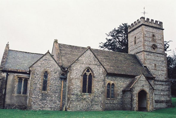 The Parish Church at Up Cerne. Photo by Chris Downer, for more about the photographer click on the image.
