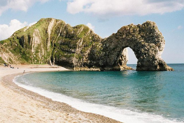 Durdle Door on the Dorset Jurassic Coast. Photo by Chris Downer, for more about the photographer click on the image.