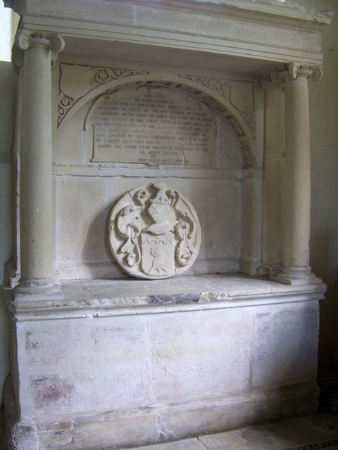 The tomb of the Alie family in St. Mary's Church. Photo by Trish Steel, for more about the photographer click on the image.