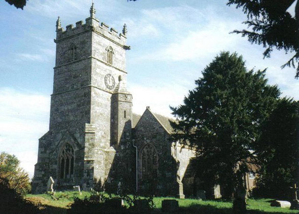The Church of St. Mary at Sixpenny Handley. Photo by Trish Steel, for more about the photographer click on the image.