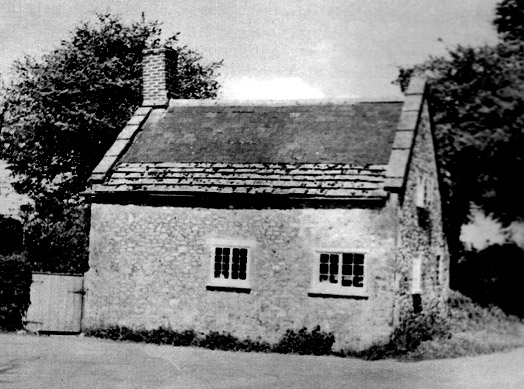 Turnpike Cottage is located at a crossroads a few hundred yards from the village. We believe this photo was taken around 1950.