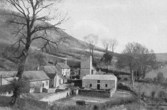 View of Bincombe taken in the 1940's