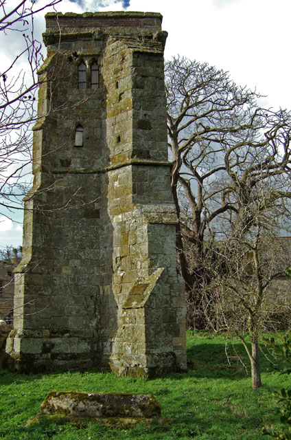 The Old Church Tower at East Compton nr Compton Abbas  is all that remains of the earlier church. Photo by Mike Searle, for more about the photographer click on the image..